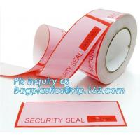 Anti Theft Scotch Tape Label Security Void Tamper Evident Box Seal Tamper