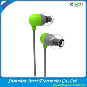 China 2014 coolest fashionable item branded handsfree communication flat cable earphone for promotion on sale