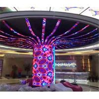 China Indoor Flexible LED Display Curved LED Screen Soft Modules on sale