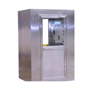 China Industrial SS Air Shower Room 18 Months Warranty Clean Room Equipment on sale
