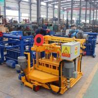Qt40-3 Concrete Interlocking Bricks Machine