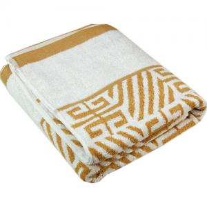 China 100%Cotton Yarn Dyed Decorative Bath Towels Factory Direct on sale