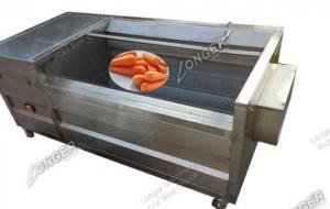 China Commercial efficent fruit and vegetable washing and peeling machine for sale on sale