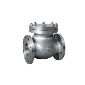 China stainelss steel CF8 CF8M API swing check valve for power station on sale