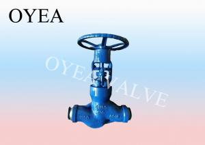 China ANSI API GB Cast Steel Forged Steel Bellow Globe Valve on sale