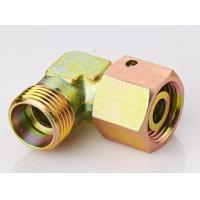 China Elbow DIN Hydraulic Fittings Reducer Tube Adapter With Swivel Nut  2C9 / 2D9 on sale