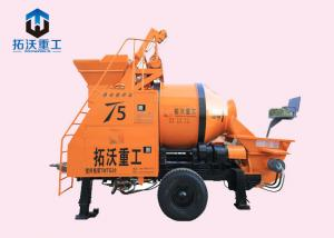 China Diesel 30 Cubic Meters Concrete Mixer Pump , Small Concrete Mixer With 125mm Pipes on sale