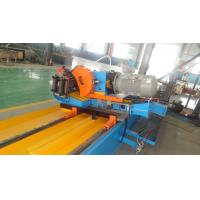 Portable Shop Metal Working Pipe Cold Cutting Machine Blue Color
