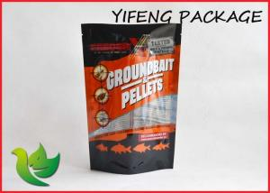 China Stand Up Fishing Lure Bags / Recycled Fishing Bait Bag with zipper on sale