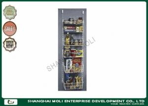 China Customized multi - tier kitchen wire rack storage products display shelves on sale