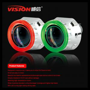 China Hot Selling Hid Bi-xenon Projector Lens Light Ccfl Angel Eyes Six color Nissan Tiida on sale