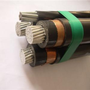 China AL / XLPE Hta Cis Cable Longitude Al Plastic Tape Screen Medium Power Cable 240 SQMM Direct Burial Cable on sale