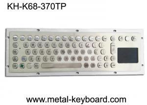 China Metal Industrial Computer Keyboard With 70 Keys Touchpad Keyboard on sale