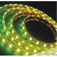 China IP67 Waterproof SMD 5050 LED Strip 12V / 24V DC Yellow led strip tape in cool white on sale