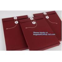 Customized Kraft Paper Antique Envelopes Mailer Envelope,Recyclable Biodegradable Brown Kraft Paper Seed Envelopes PACKA