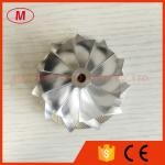 GT15-25 50.2/65.00mm 11+0 roue de compresseur de billette de peformance des lames 702549-0008HF V1
