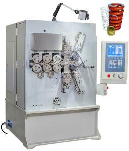 China Máquina de bobinamento grande automatizada da mola de compressão do CNC com seis brancos cinzentos da linha central on sale