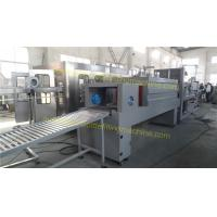 China Semi Automatic Shrink Wrap Machine , Label Packaging Machine With Steam Generator on sale