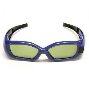 China Low energy environmental kids Blue USB rechargeable DLP link 3d eye protection glasses for 3d movie on sale