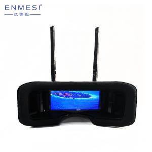 China 2019 Mini 2.7 Inch RC FPV Box Goggles HMD 960*240 Long Range FPV Headset For Race Drone on sale