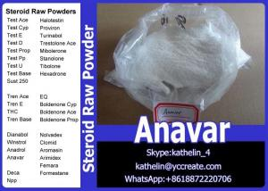China Oral Steroid Raw Powder Oxandrolone / Anavar For Homebrew Oil CAS No.53-39-4 on sale