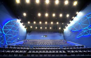 China Pneumatic / hydraulic cinema theater movie motion chair / seat with 4d simulator on sale