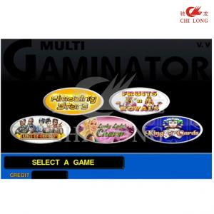 China 5 In 1 Multi Games Amazing starts king of cards  Gaminator Casino Pcb Board V2 For Video Slot And Casino Machines on sale