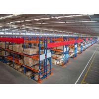 Customized Heavy Duty Storage Racks , Selective Warehouse Pallet Storage Rack Systems