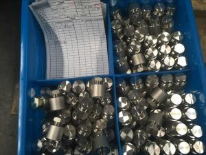 """Quality Forged Steel Couplings Round 4"""" NB Class 1000 A105 S / A105 / ASTM B564 forged nickel alloy coupling for sale"""