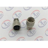 China Nickel Plated Knurling Nuts Machining Small Metal Parts ø10.4*16.1 MM Size on sale