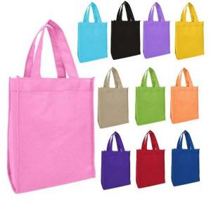 China Eco Friendly Non Woven Carry Bags  , Non Woven Reusable Bags OEM Service on sale