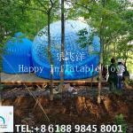 Inflatable Bubble Tent , 4m Diameter  PVC  Outdoor  Traveling Tent Waterproof