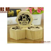 Mini 18 note Hedwig Theme Harry Potter Hand Engraved Wooden Music Box