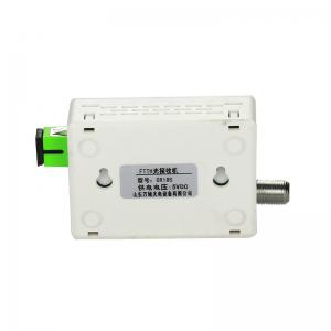 China 220V Ftth Catv Optical Receiver OR18  Fiber Optic To RF Converter AGC on sale