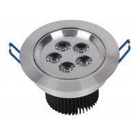 China Round Sanan 5 Watt Led Recessed Ceiling Lights For Supermarket , 2700K 2800K Warm White Led on sale