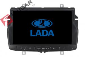 China Russian Menu Lada Vesta Android Gps Car Stereo , 2 Din Android Head Unit TPMS Supported on sale