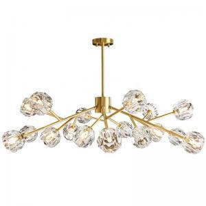 China 110v Glass Copper Ra75 IP44 Modern Pendant Lamp on sale