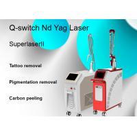 2000mj Q Switch Laser Tattoo Removal Machine Nd Yag Pigmentation Removal
