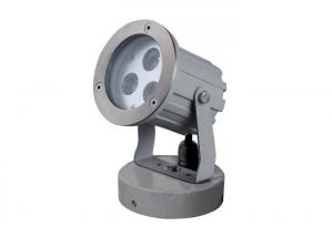 China Aluminum LED Garden Spotlight With Round Base Die Casting Aluminum Material on sale