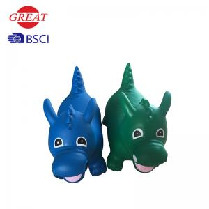 China 1200-1500g Dragon Hopper , Animal Hopper Toy Included Inflatable Pump on sale