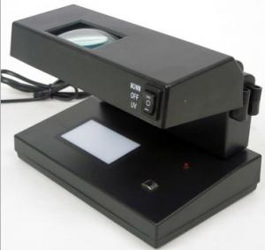 China Portable UV +MG Counterfeit Money Detector with 3*5MM White light on sale