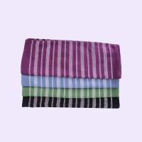 Stripe Pattern Standard Size Cotton Kitchen Tea Towels / Cleaning Cloth For House