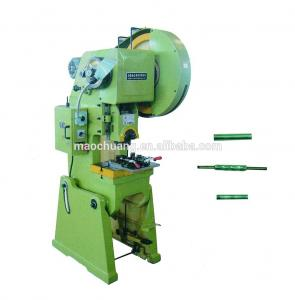 China 8 * 6 * 40mm Pneumatic Clip Tool Casing Punching Stamping Press Machine on sale
