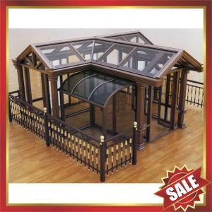 China Prefab solar Sun room,sun house,garden metal aluminum alloy glass house,excellent aluminium framework,super durable! on sale