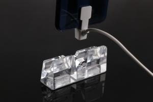 China COMER Anti Theft Alarm Pad Cable Lock Security Display Acrylic Stands on sale