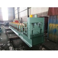 China Steel sheet Big Round Ridge Capping Cold Roll Forming Machine Panasonic PLC Control on sale