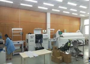 China SMD LED Pick And Place Machine / SMT Chip Mounter With Platform 1200X300mm on sale
