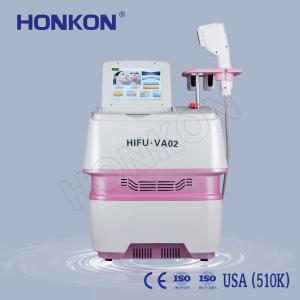 China Portable Beauty Salon Use Wrinkle Removal HIFU Face Lifting Machine 0.1-2.2J/cm2 on sale