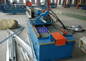 China 14 Steps Door Frame Roll Forming Machine , Rolling Shutter Machine on sale