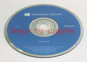 China Full Version Sealed Windows Server 2016 OEM System Builder Pack DVD Meida on sale